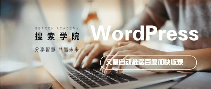 WordPress 代码 实现自动发布文章内容推送百度加快收录